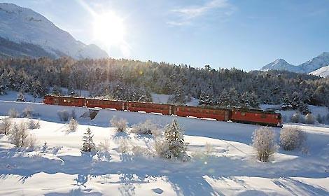 treno,rosso,bernina,sconti
