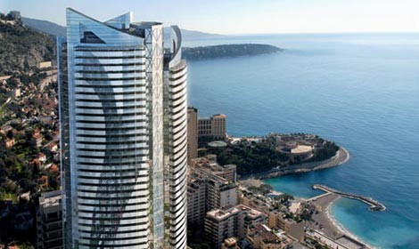 Il Grattacielo Pi Alto Di Montecarlo Viaggiatori E Turisti