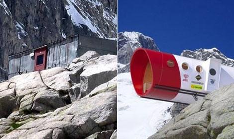 rifugi hi-tech,montagna,alpi